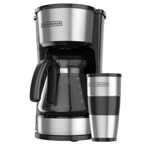 Cafetera Black&Decker para 5 tazas CMO755S