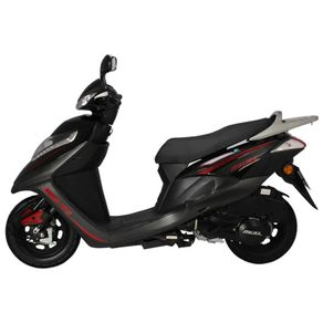Motoneta Italika Dsg125 de 125cc Negra