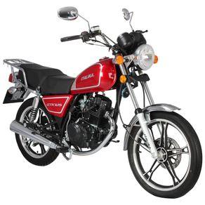 Moto de trabajo Italika Gtk125 de 125cc Roja