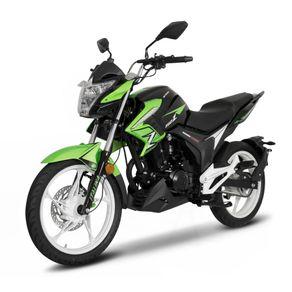 Moto de trabajo Italika 150z de 150cc Negro/Verde