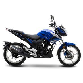 Moto de trabajo Italika 150z de 150cc Azul