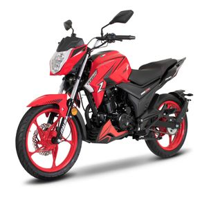 Moto de trabajo Italika 200z de 200cc Rojo/Negro