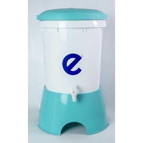 Filtro de Agua Ecofiltro 22 Litros plástico Celeste