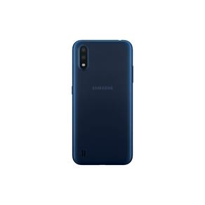 Smartphone Galaxy A01 Samsung liberado color Azul