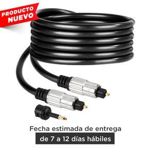 Cable Steren Toslink de fibra óptica para audio digital, de 2m