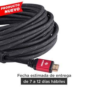 Cable Elite HDMI 4K con filtros de ferrita, 10mts