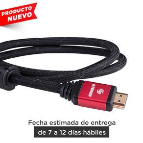 Cable Elite HDMI 4K con filtros de ferrita, 90cm