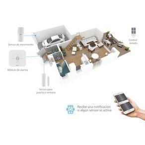 Sistema de seguridad Wi-Fi con alarma Steren 3 sensores