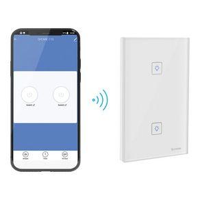 Apagador Wi-Fi touch doble Steren