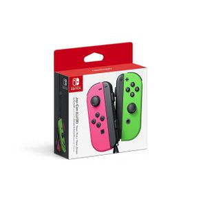 Nintendo Switch Joycon Control Verde/Rosa