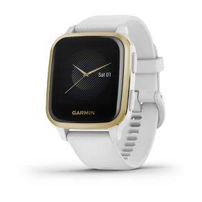 Garmin Watch Venu SQ Blanco-Dorado