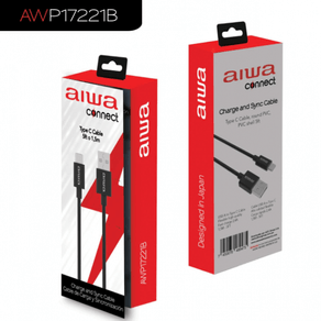 Cable Aiwa PVC Tipo C P17221B