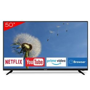 Televisor Smart 4K Aiwa de 50 pulgadas AW50B4KN NetflixTV