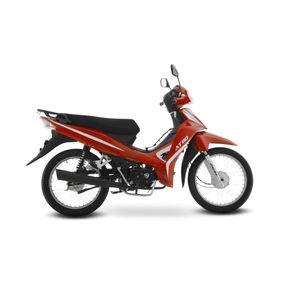 Moto de trabajo Italika At110 de 110cc Rojo/Negro