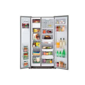 Refrigeradora Side by Side General Electric de 26 pies³ GNM26AEKFSS