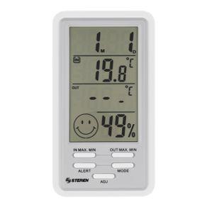 Termómetro digital Steren con sensor de humedad
