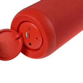 Bocina portatil Aiwa AWQ680 de 20Watts Rojo
