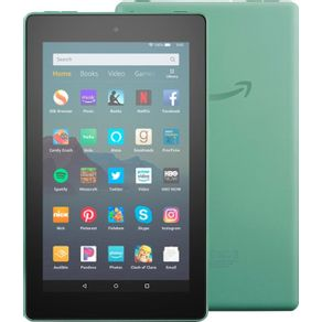 Tablet-Amazon-Fire-7--16GB-Verde-B07HZHCDQG