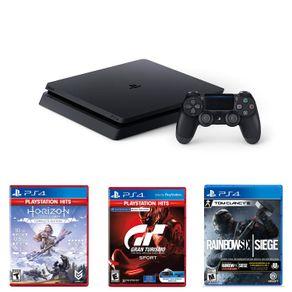 PS4-1TB-Megapack16-Horizon-Gran-Turismo-Rainbow-Six-Siege-CUH-2215B